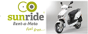 sunride - rent a moto, scooter hire, Olh�o Algarve